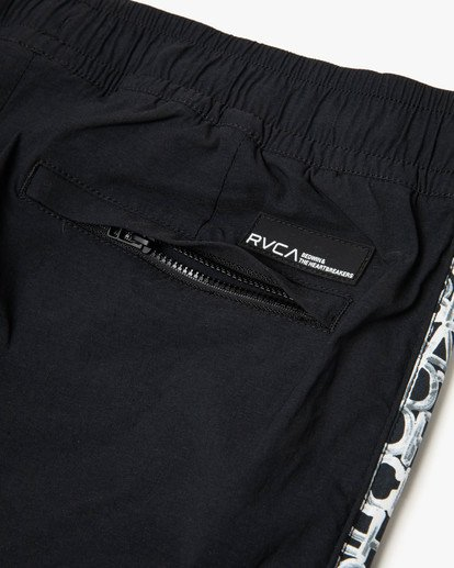 9 BEDWIN IPFU STRETCH TRACK PANT Black AVYNP00114 RVCA