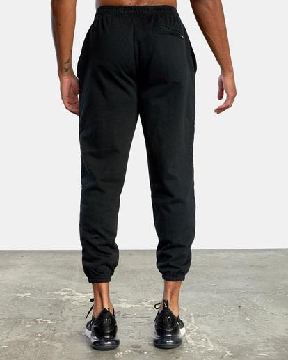 1 VA Essential Sweatpant Black AVYNP00116 RVCA