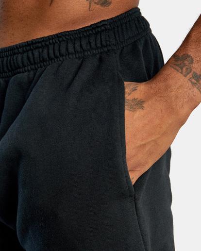 6 VA Essential Sweatpant Black AVYNP00116 RVCA