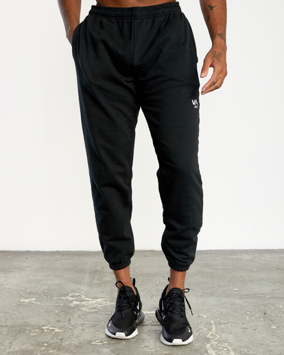 0 VA Essential Sweatpant Black AVYNP00116 RVCA