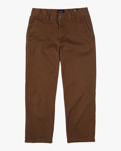 0 Kevin Spanky Long   Spanky Okapi Cropped Pants. Black AVYNP00117 RVCA