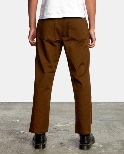 2 Kevin Spanky Long   Spanky Okapi Cropped Pants. Black AVYNP00117 RVCA