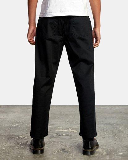 2 Kevin Spanky Long | Spanky Okapi Cropped Pants. Orange AVYNP00117 RVCA