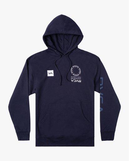 0 VA MARK Sport HOODIE Blue AVYSF00124 RVCA