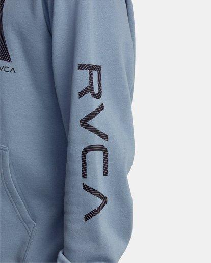6 Skully D Hoodie Grey AVYSF00131 RVCA