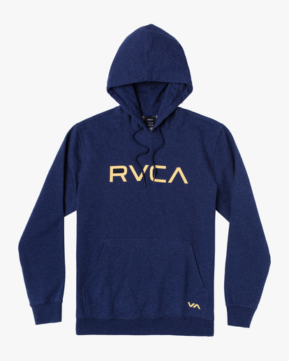 0 Big RVCA Hoodie Blue AVYSF00143 RVCA