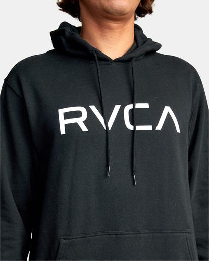 3 Big RVCA Hoodie Black AVYSF00143 RVCA