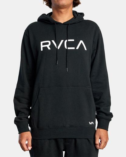 1 Big RVCA Hoodie Black AVYSF00143 RVCA