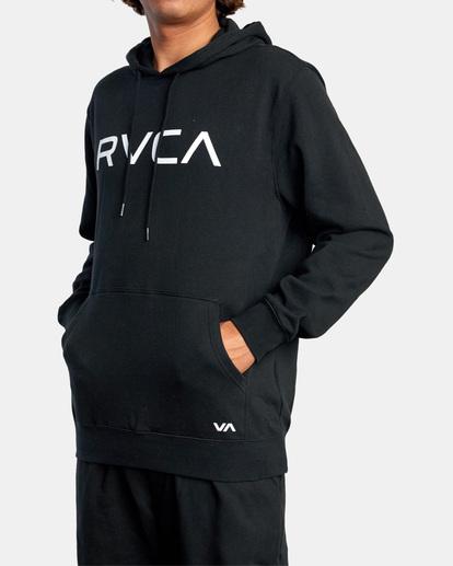 4 Big RVCA Hoodie Black AVYSF00143 RVCA