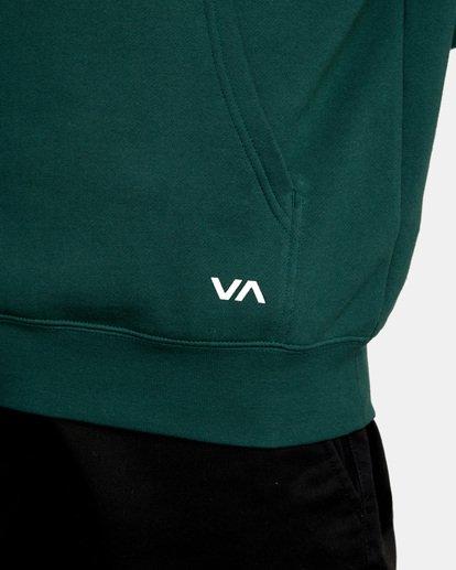 6 Big RVCA Hoodie Green AVYSF00143 RVCA