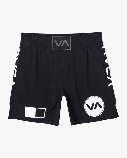 "0 Thai Training Workout Shorts 18"" Black AVYWS00125 RVCA"