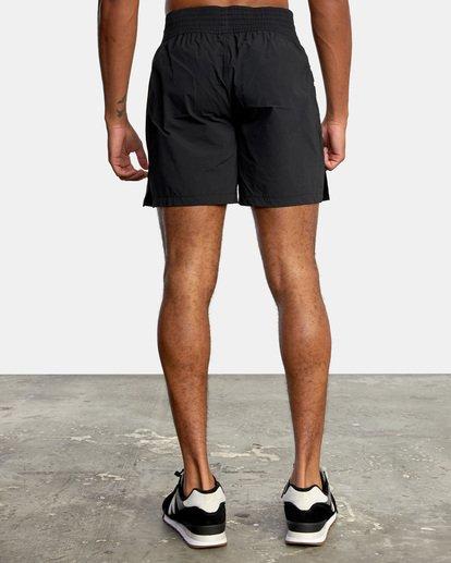 "2 Thai Training Workout Shorts 18"" Black AVYWS00125 RVCA"