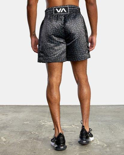 "1 Matt Leines | VA Sport Leines Boxing Shorts 17"" Black AVYWS00151 RVCA"