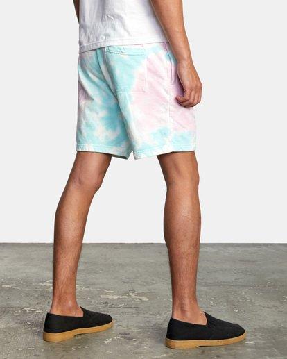 4 Jesse Lortz | RVCA x Jesse Lortz Elastic Shorts White AVYWS00170 RVCA