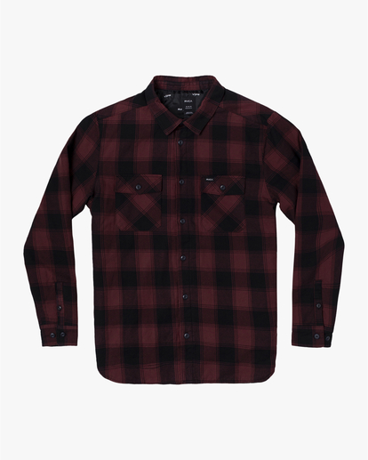 0 REPLACEMENT LONG SLEEVE FLANNEL  AVYWT00131 RVCA