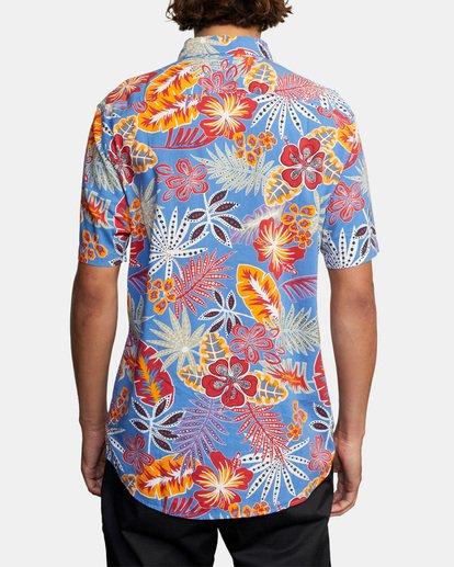 2 Singapore Sling Floral Short Sleeve Shirt Orange AVYWT00180 RVCA