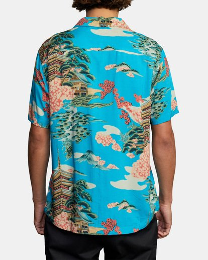2 Kyuka Short Sleeve Shirt Brown AVYWT00191 RVCA
