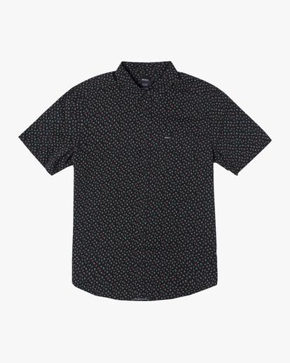 0 Pure Joy Short Sleeve Shirt Black AVYWT00197 RVCA