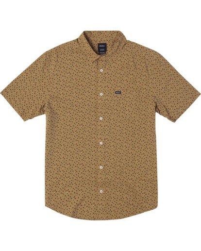 0 Pure Joy Short Sleeve Shirt Multicolor AVYWT00197 RVCA