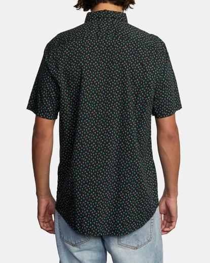 2 Pure Joy Short Sleeve Shirt Black AVYWT00197 RVCA