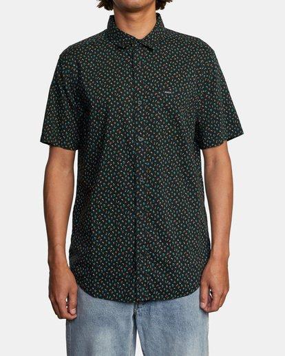 1 Pure Joy Short Sleeve Shirt Black AVYWT00197 RVCA