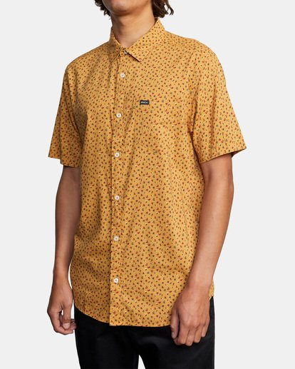 3 Pure Joy Short Sleeve Shirt Multicolor AVYWT00197 RVCA