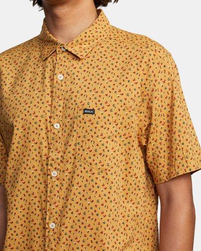 4 Pure Joy Short Sleeve Shirt Multicolor AVYWT00197 RVCA