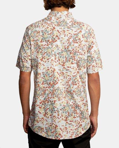 2 Baritone Short Sleeve Shirt White AVYWT00227 RVCA