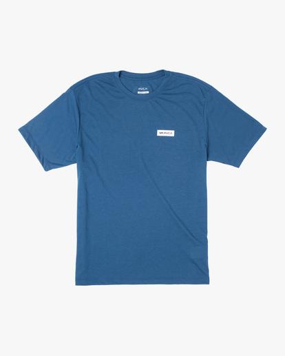 0 VA Sport | Icon Workout Shirt Blue AVYZT00184 RVCA