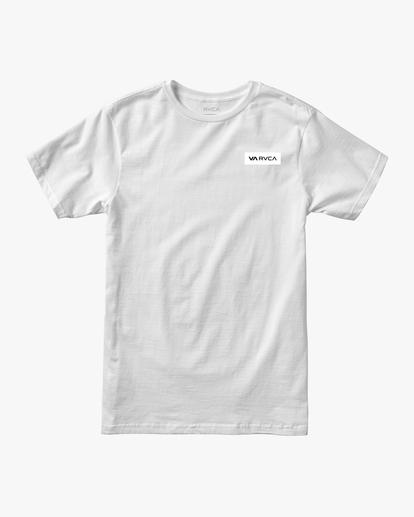 0 VA Sport | Icon Workout Shirt White AVYZT00184 RVCA