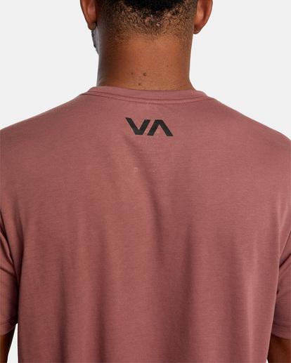 8 VA Sport   Icon Workout Shirt White AVYZT00184 RVCA