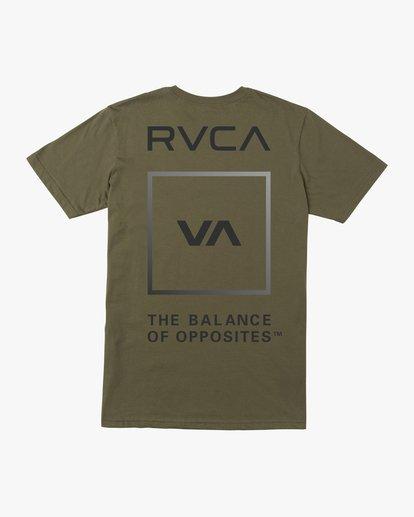 1 VA GLORY SHORT SLEEVE PERFORMANCE TEE  AVYZT00187 RVCA