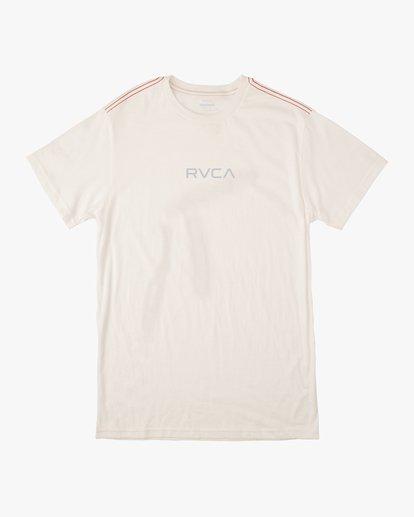 0 SMALL RVCA SHORT SLEEVE TEE White AVYZT00214 RVCA