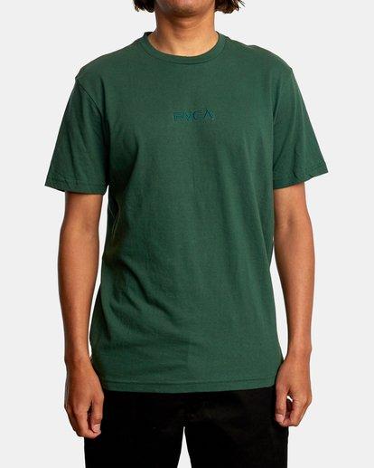 1 SMALL RVCA SHORT SLEEVE TEE Green AVYZT00214 RVCA