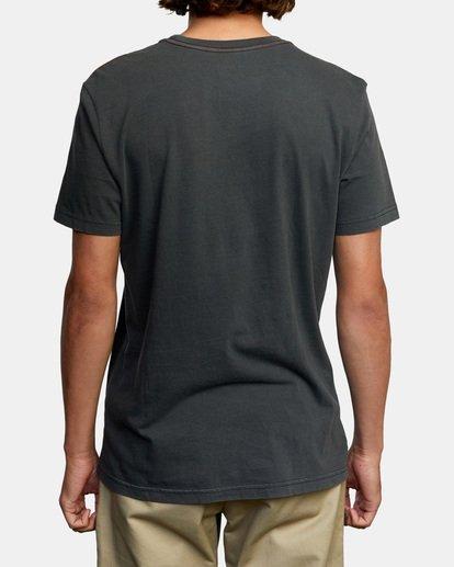 2 Glare Short Sleeve Tee Black AVYZT00306 RVCA