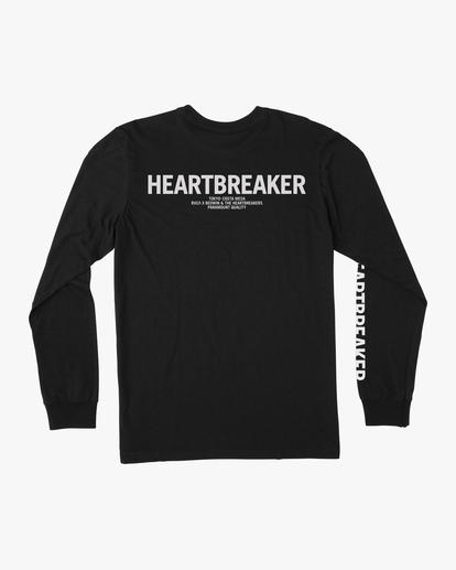1 BEDWIN HEARTBREAKER LONG SLEEVE TEE Black AVYZT00318 RVCA