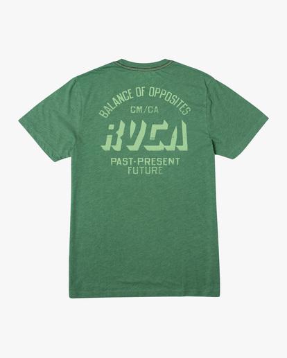 1 Trax Short Sleeve Tee Green AVYZT00465 RVCA
