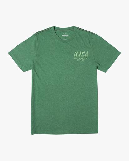 0 Trax Short Sleeve Tee Green AVYZT00465 RVCA