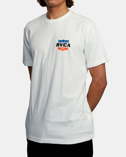 4 RODEO TEAM SS White AVYZT00471 RVCA