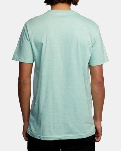2 Ben Horton   Smokescreen Short Sleeve Tee Green AVYZT00474 RVCA