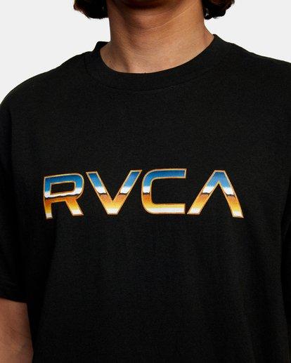 4 KROME SS Black AVYZT00486 RVCA