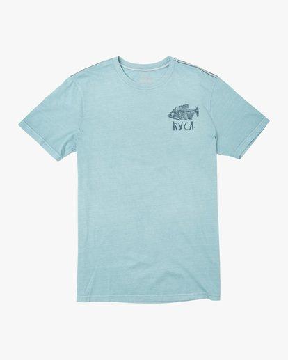0 Ben Horton | Dead See Short Sleeve Tee White AVYZT00489 RVCA