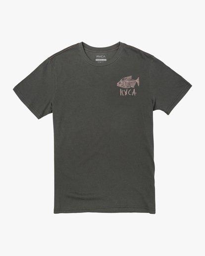 0 Ben Horton | Dead See Short Sleeve Tee Black AVYZT00489 RVCA