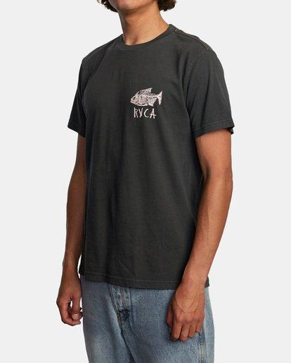 4 Ben Horton | Dead See Short Sleeve Tee Black AVYZT00489 RVCA