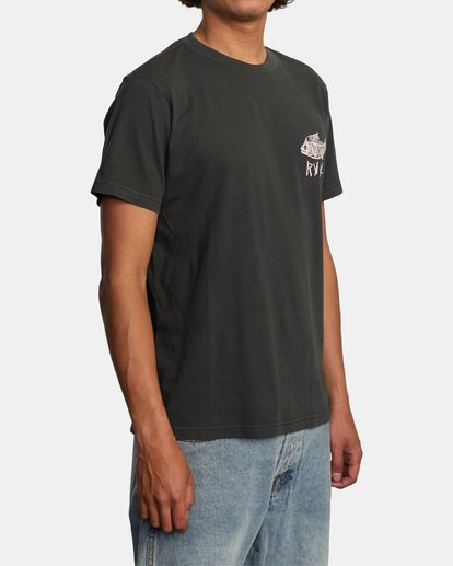 5 Ben Horton | Dead See Short Sleeve Tee Black AVYZT00489 RVCA