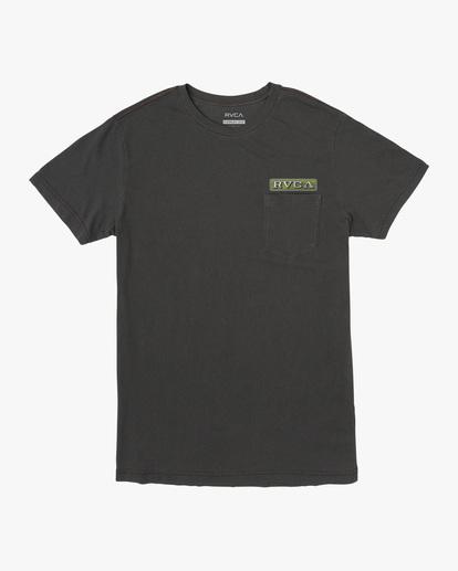 0 Unbroken Short Sleeve Tee Black AVYZT00492 RVCA