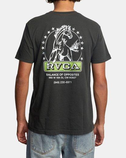 3 Unbroken Short Sleeve Tee Black AVYZT00492 RVCA