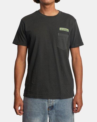 2 Unbroken Short Sleeve Tee Black AVYZT00492 RVCA