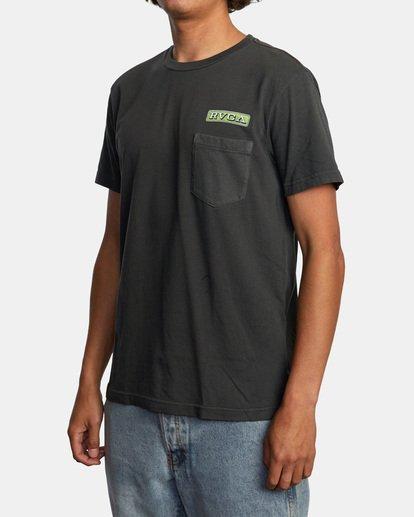 4 Unbroken Short Sleeve Tee Black AVYZT00492 RVCA