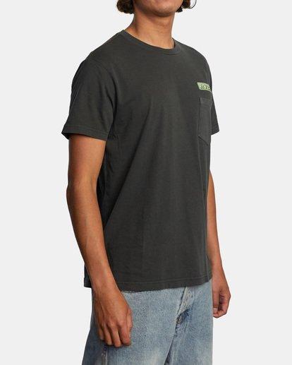 5 Unbroken Short Sleeve Tee Black AVYZT00492 RVCA